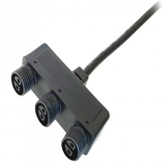 Branch connector - 3 outlets