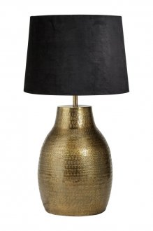 Humphrey brass 52cm + Sofia black shade