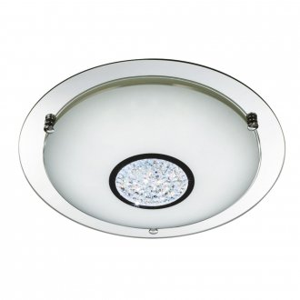 Cyrstal flush LED 41cm