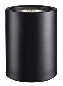 Cylinder table black