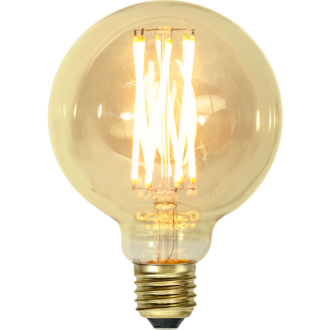 E27 Vintage gold 95mm LED 3,7W