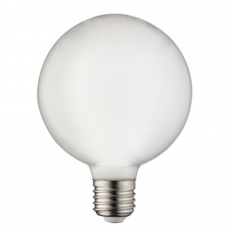 E27 Glob opal 95mm LED 3-stegsdimbar 7W