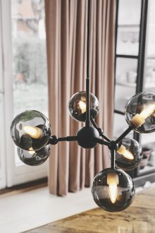 Atom ceiling lamp smoke