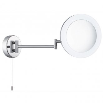 Bathroom mirror LED chrome