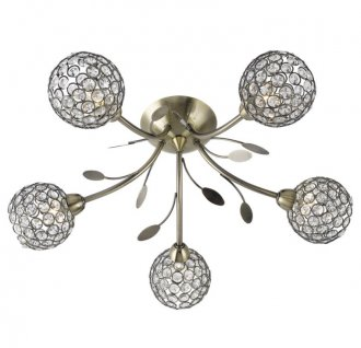 Bellis 5 ceiling light