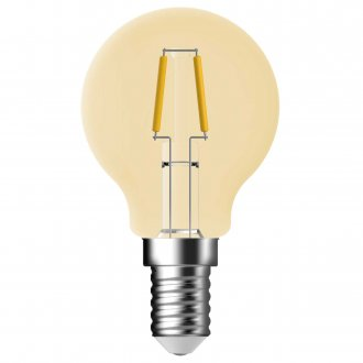 E14 Ball lamp Amber LED 4.8W