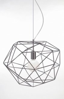 Diamond ceiling lamp