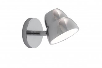 Fico wall chrome LED