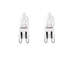 Halogenlampa 2-pack 42W (G9)