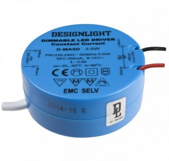 350mA LED transformer> roof/junction box