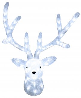 Reindeer chrystal decoration 50cm