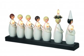 Lucia candlestick