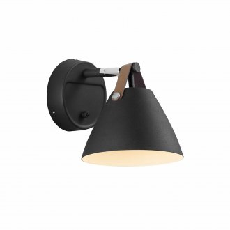 Strap wall light