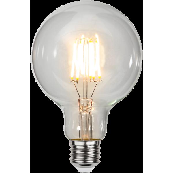 E27 globlampa 95mm LED 4,7W ...