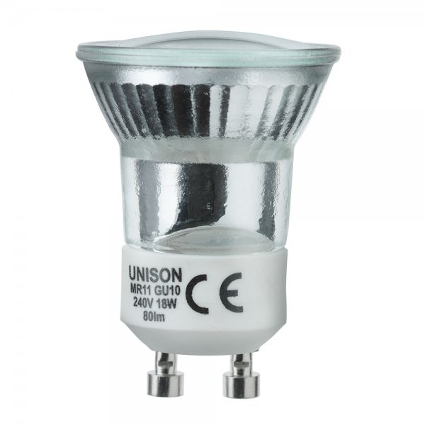 Halogenlampa 20W 2-pack (GU10-Mini)