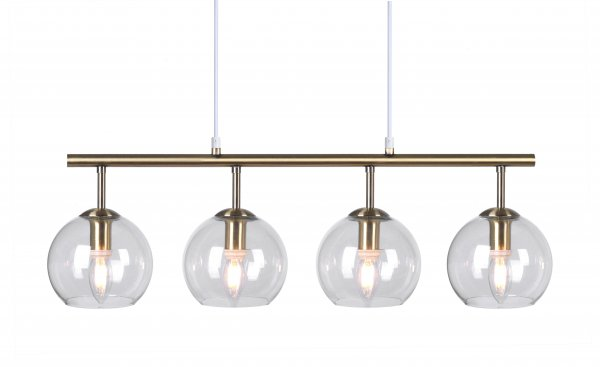 Nicole ceiling lamp brass