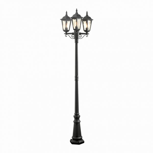 Firenze 3-arm post lantern