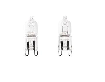 G9 Halogenlampa 2-pack 19W (25W)