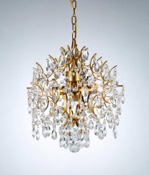 Kate brass chandelier