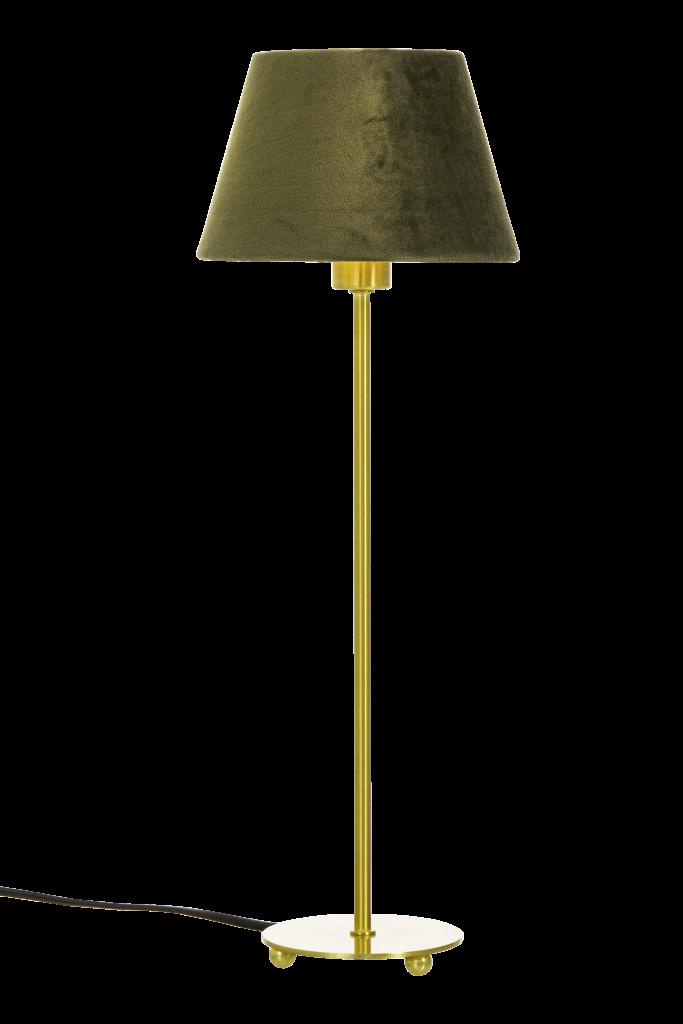 Ester Table Lamp Brass Bases, Brass Square Base Table Lamp