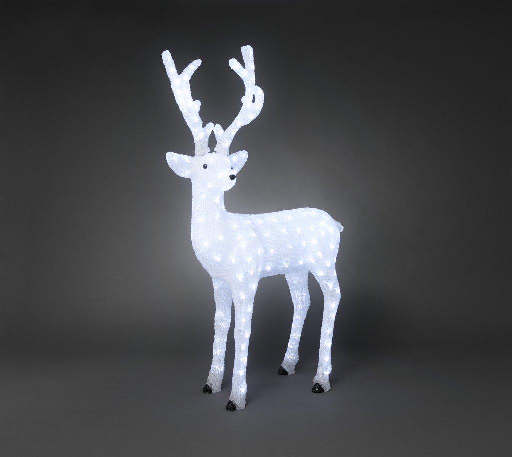 Deer Acrylic Led 130cm Christmas Lighting Lightshop Com
