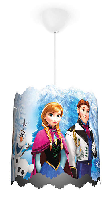 Frozen Ceiling Light Childrens Lamps