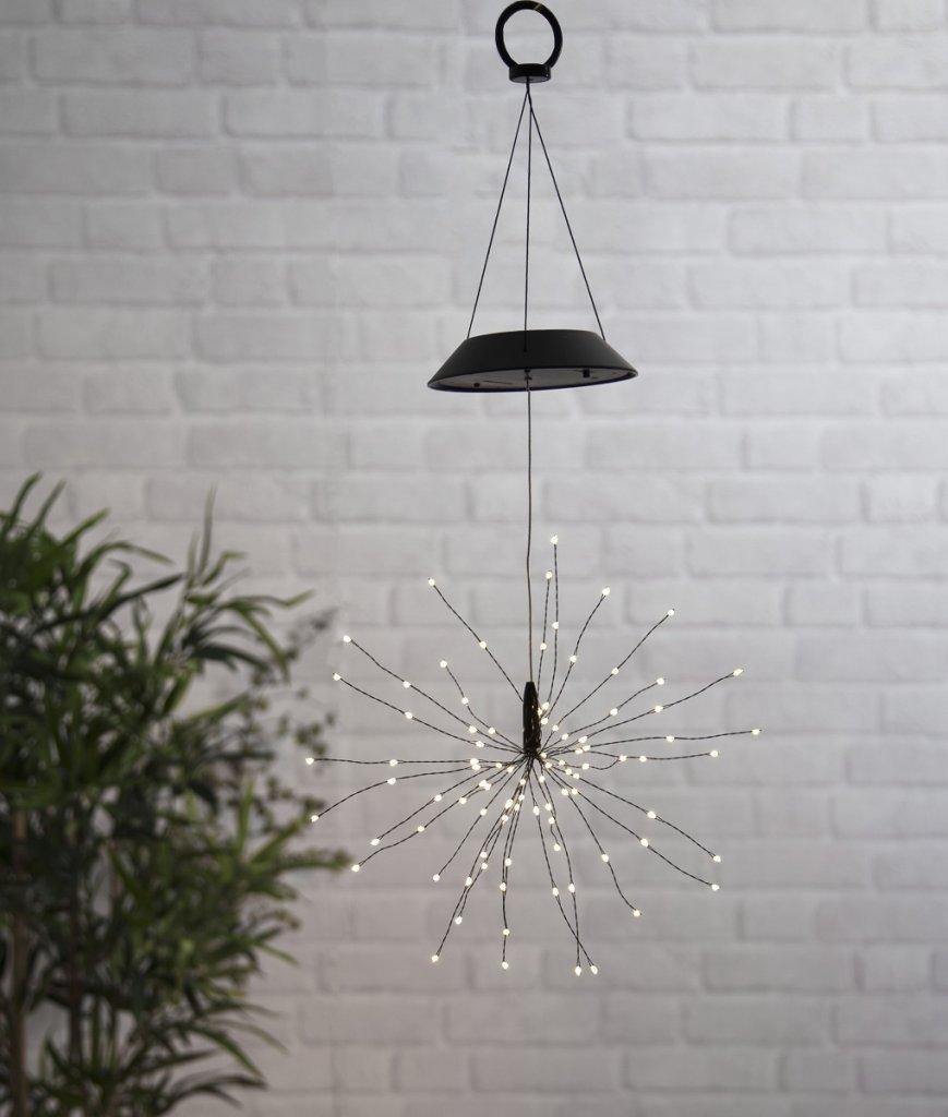 Solar cell decoration Firework hanging