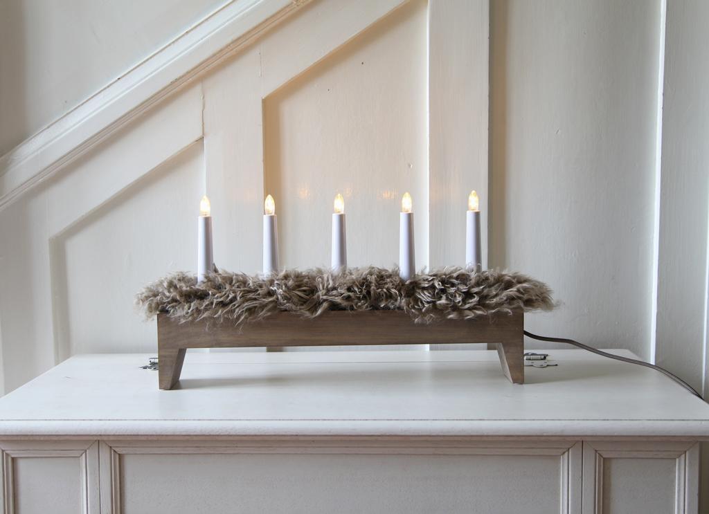 Svenljunga Ljusstake 5l Brown Candlesticks Lightshop Com
