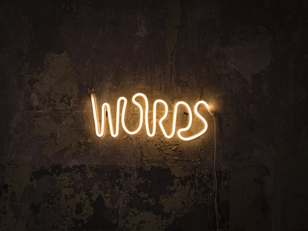Words Led Wall Light Wall Lamps Lightshop Com