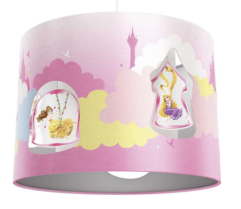 Princess Ceiling Light - Childrens Lamps